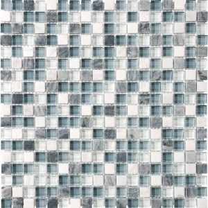 BLISS GLASS + STONE BLEND MOSAICS COLLECTION