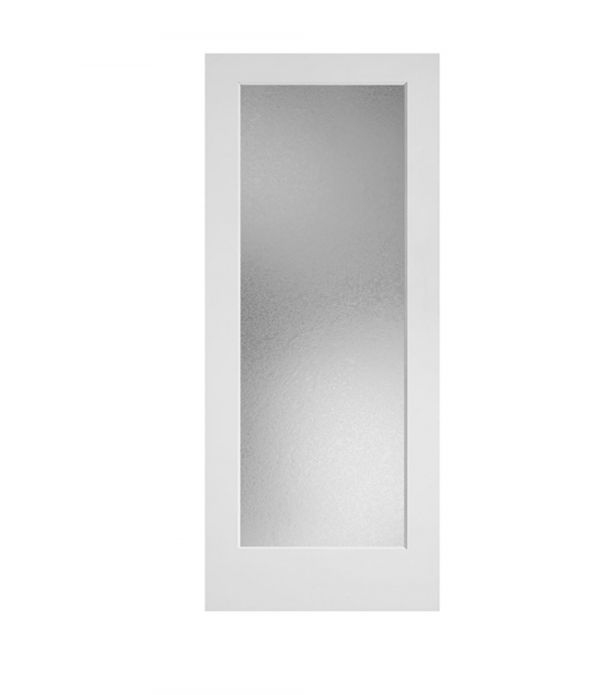 Frosted Glass 1-Panel Door
