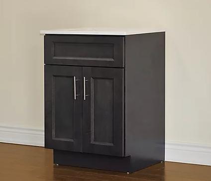 Tesoro - Dark Grey Shaker Vanity Collection