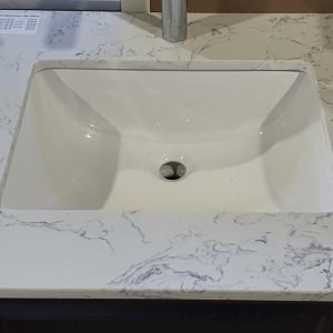 Tesoro - Bathroom Vanity - TOP-30 (Classic Brown HDF)