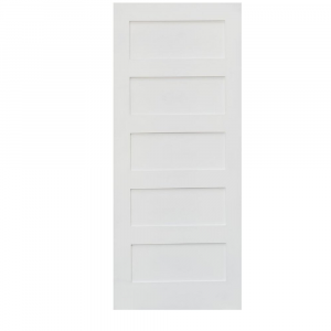 Shaker 5-Panel Solid Door