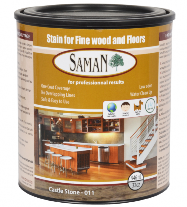 SAMAN - Stain for Fine Wood and Floors