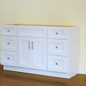 Tesoro - Bathroom Vanity - TOP-26 White Shaker
