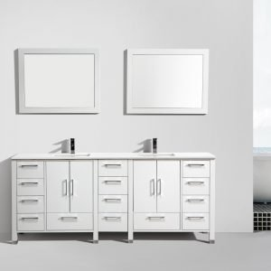 Anziano Vanity - Gloss White