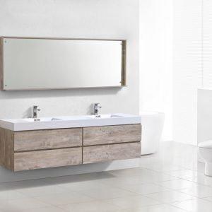 Bliss - Wall Mount Modern Bathroom Vanity