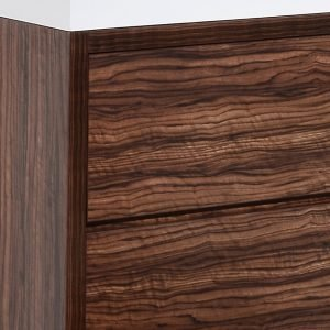 Bliss - Free Standing Modern Bathroom Vanity - Walnut