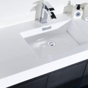 Bliss - Free Standing Modern Bathroom Vanity - Black