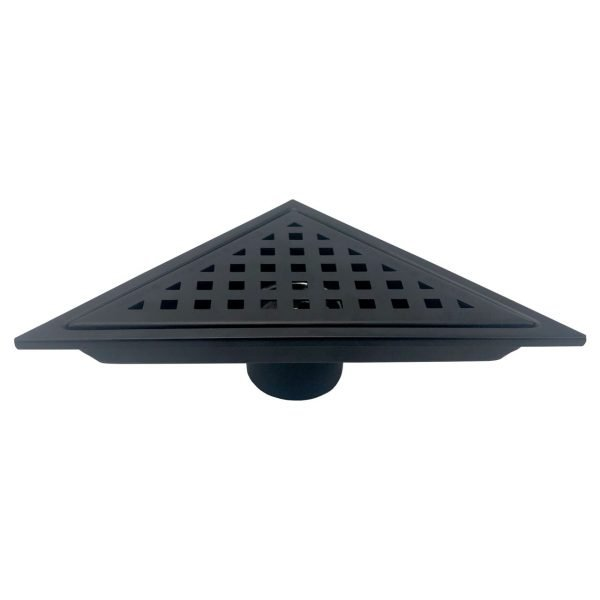 Kube 6.5″ Triangle Stainless Steel Pixel Grate – Matte Black