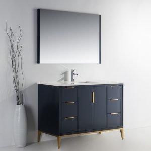 Divani - Contemporary Vanity - Blue