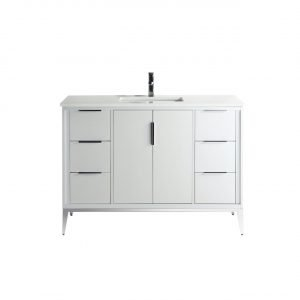 Divani - Contemporary Vanity - White