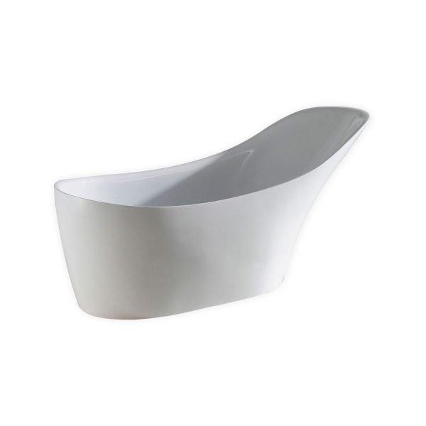 "Kube Victorian 67"" Free Standing Bathtub"