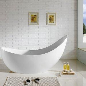 Kube Salto 81'' Free Standing Bathtub