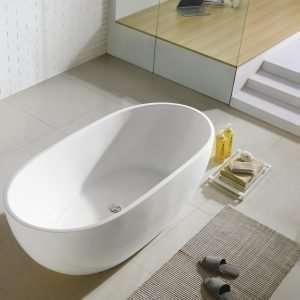 """Kube VERNICE 67"""" Free Standing Bathtub"""