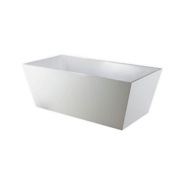 "Kube Squadra 63"" Free Standing Bathtub"