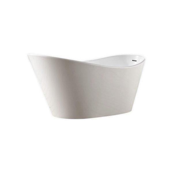 "Kube Lavello 67"" Free Standing Bathtub"
