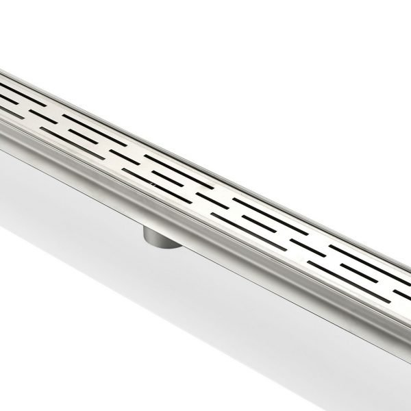 "Kube 28"" Linear Drain with Linear Grate"