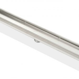 """Kube 28"""" Linear Drain with Tile Grate"""