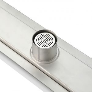 "Kube 36"" Linear Drain with Linear Grate"