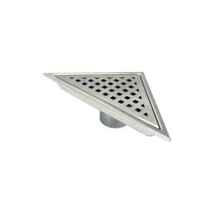 Kube 6.5″ Triangle Stainless Steel Pixel Grate – Chrome