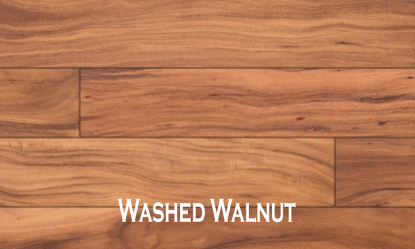 "Fuzion - Kitsilano Collection 5"" x 1/2"" Acacia Washed Walnut"