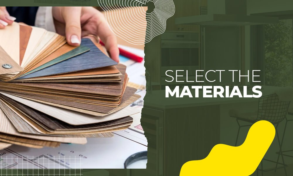 Select the Materials
