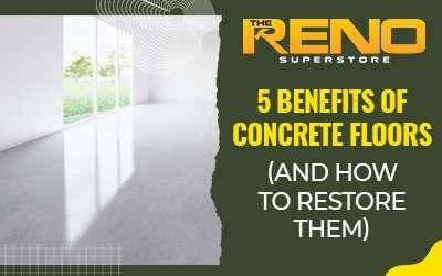 5 Benefits of Concrete Floors