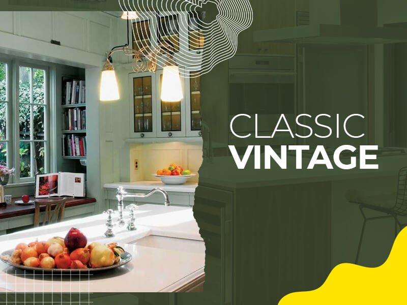 Classic Vintage Vanity