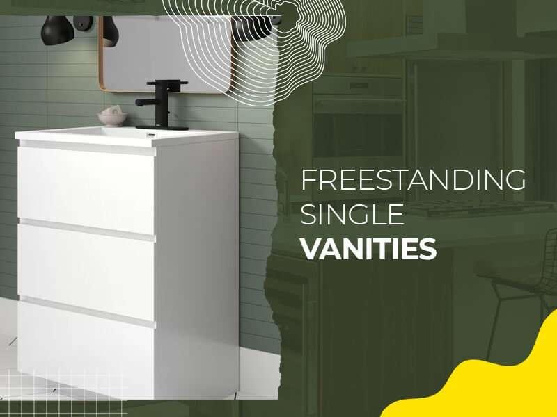 Free-standing Single Vanity