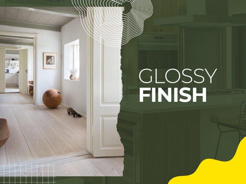 Glossy Finish Vanity