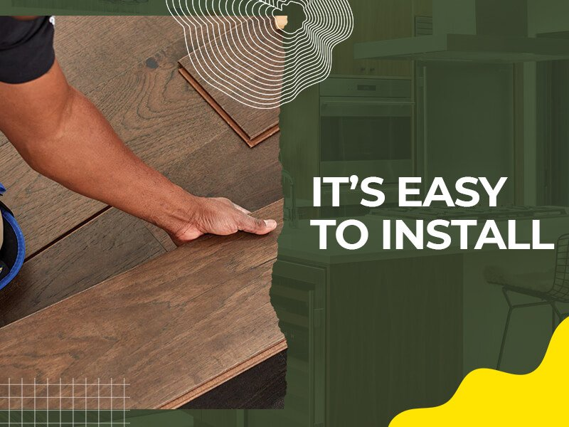 It's Easy to Install