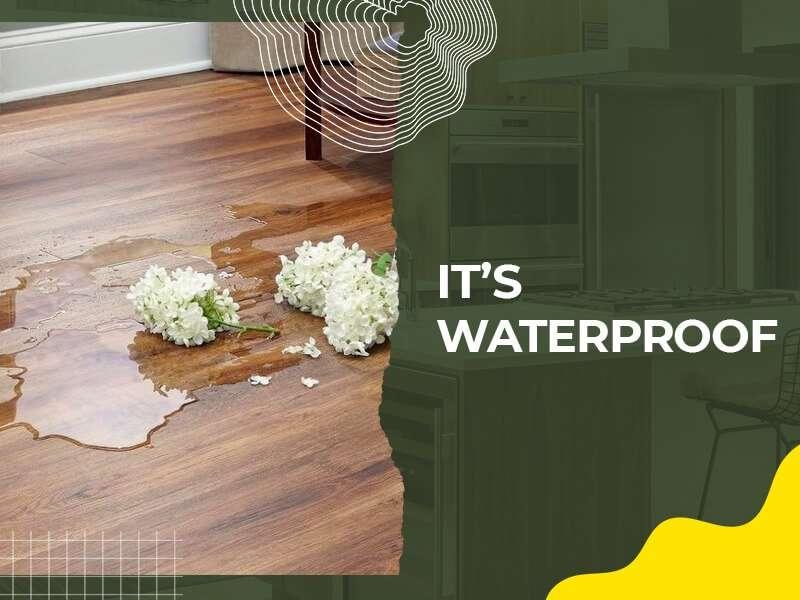 It's Waterproof