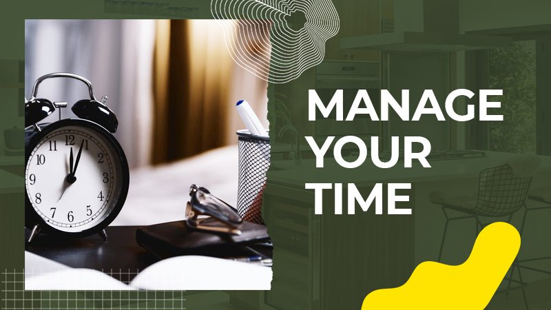 Manage Your Time - renosuperstore