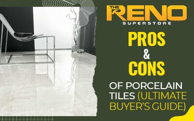 Pros & Cons of Porcelain Tiles (Ultimate Buyer's Guide)