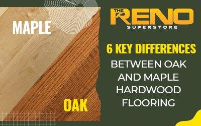 Oak and Maple Hardwood Flooring