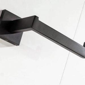 Bathroom Accessory Set - 3-Piece - Black