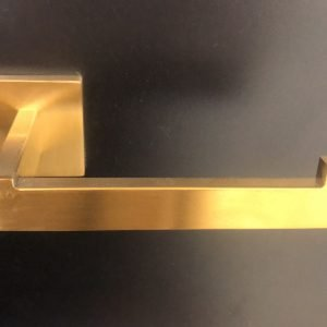 Bathroom Accessory Set - 3-Piece - Brushed Gold