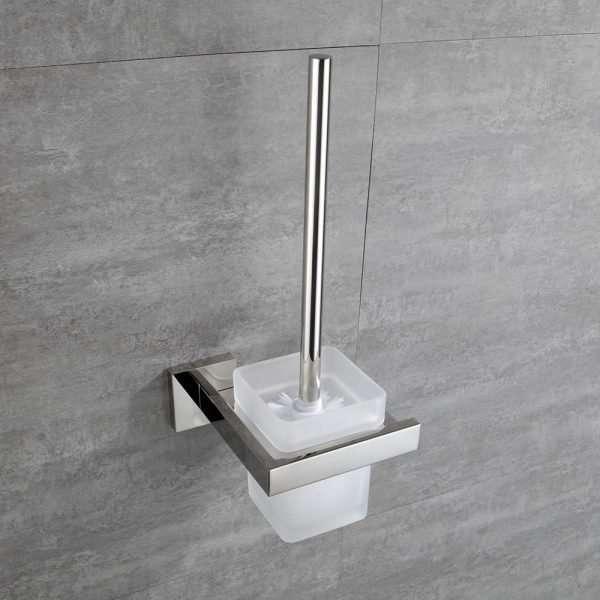Bathroom Accessory - Toilet Brush Holder - Chrome