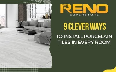 9 Clever Ways to Install Porcelain Tiles in Every Room