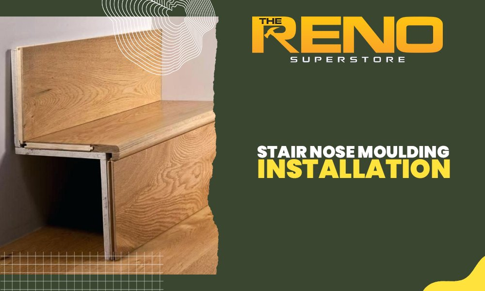 Stair Nose Moulding Installation