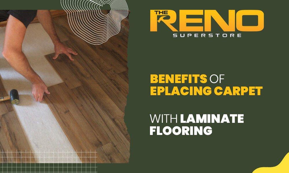 Benefits of Replacing Carpet with Laminate Flooring